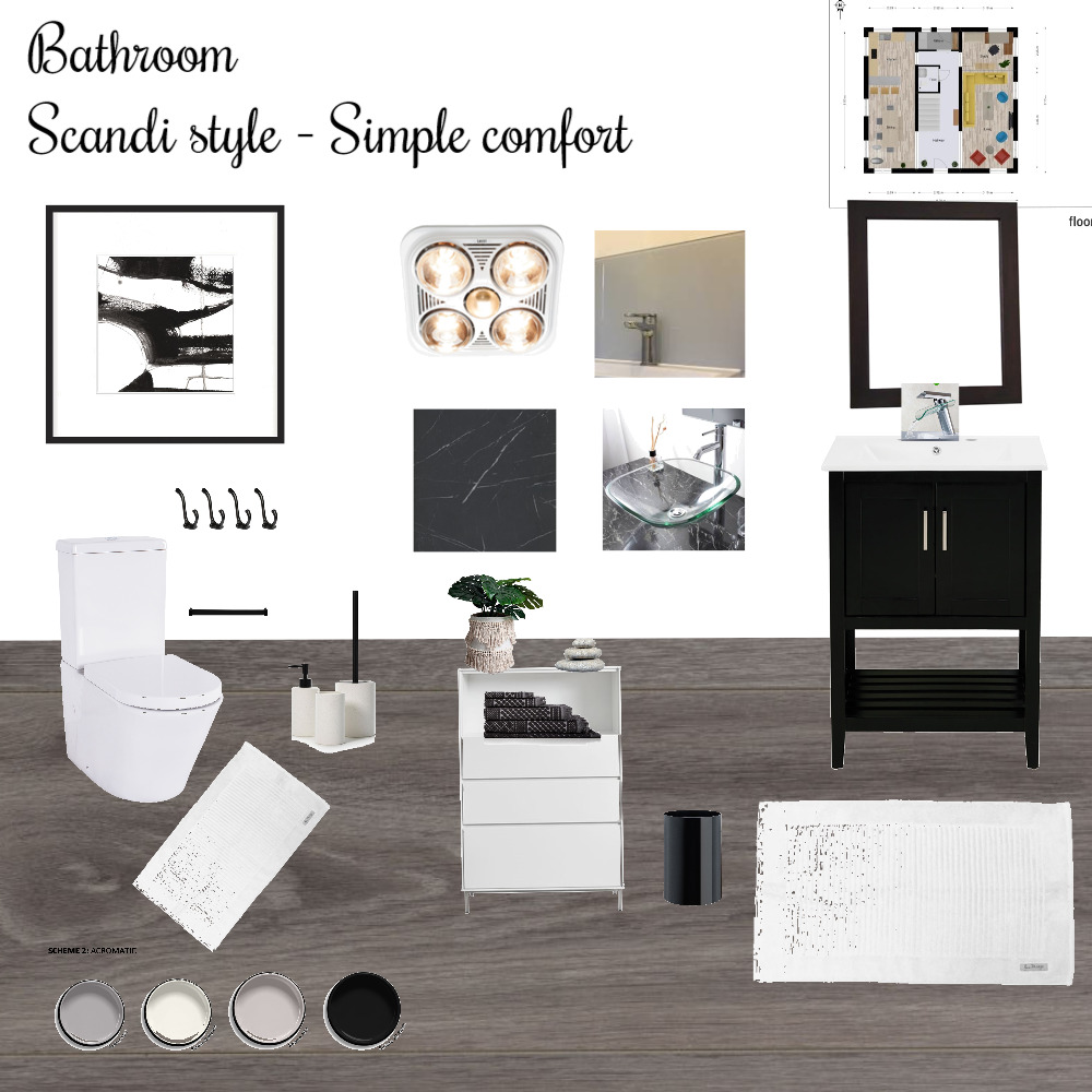 Bathroom Mood Board by c.A on Style Sourcebook