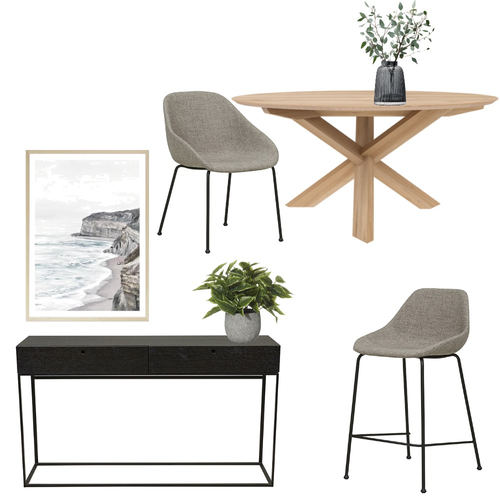 Sian Dining/Entrance Mood Board by DOT + POP on Style Sourcebook