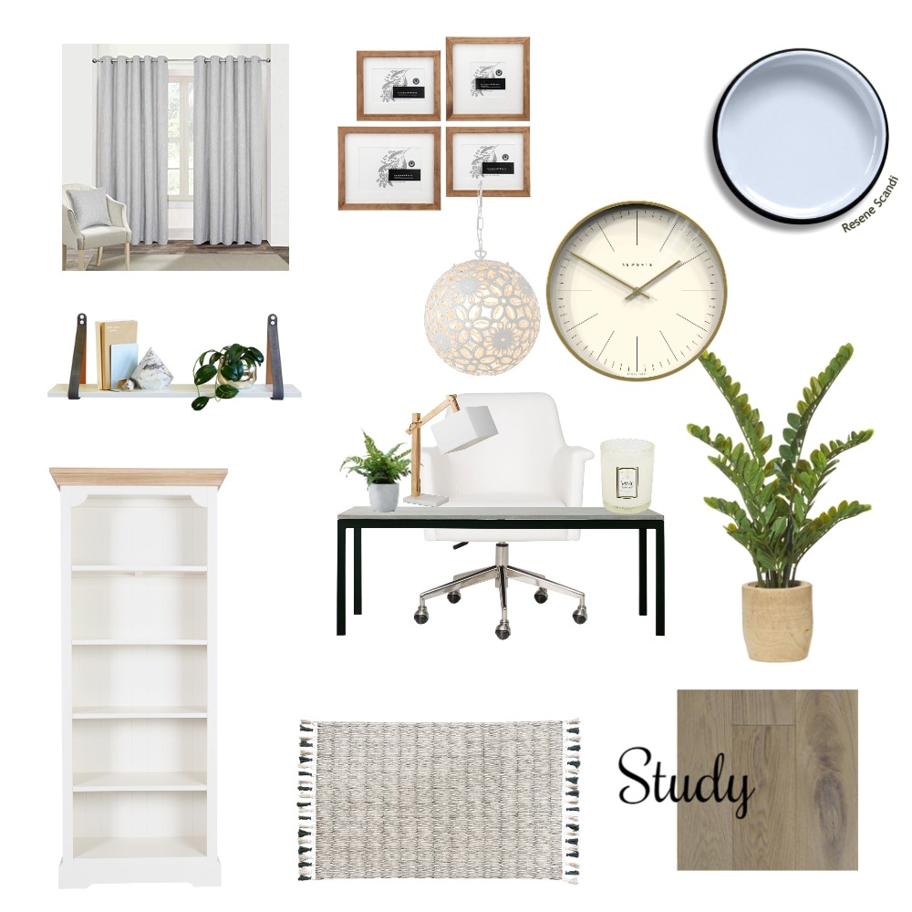 Study Mood Board by Abena on Style Sourcebook