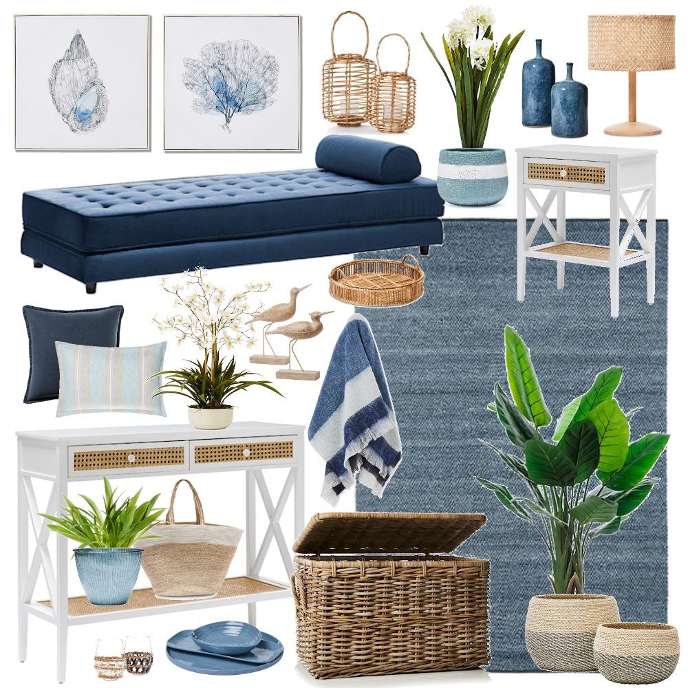 Adairs coastal hamptons Mood Board by Thediydecorator on Style Sourcebook