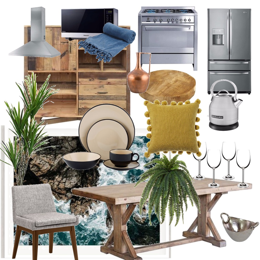 kitchen Mood Board by bluefrost_ on Style Sourcebook