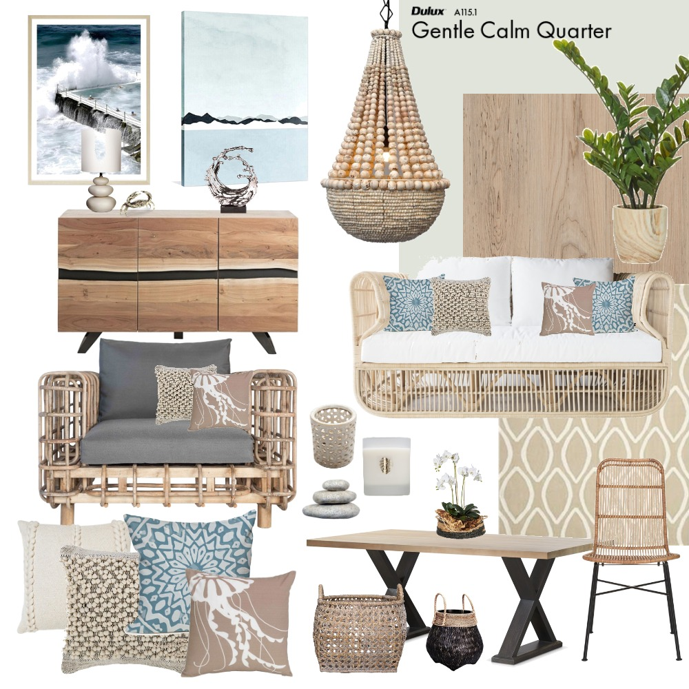 Beach Holiday House Mood Board by Jo Laidlow on Style Sourcebook