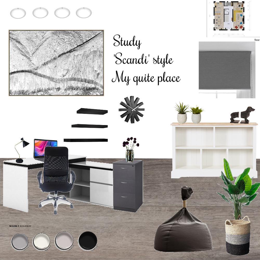Study Mood Board by c.A on Style Sourcebook