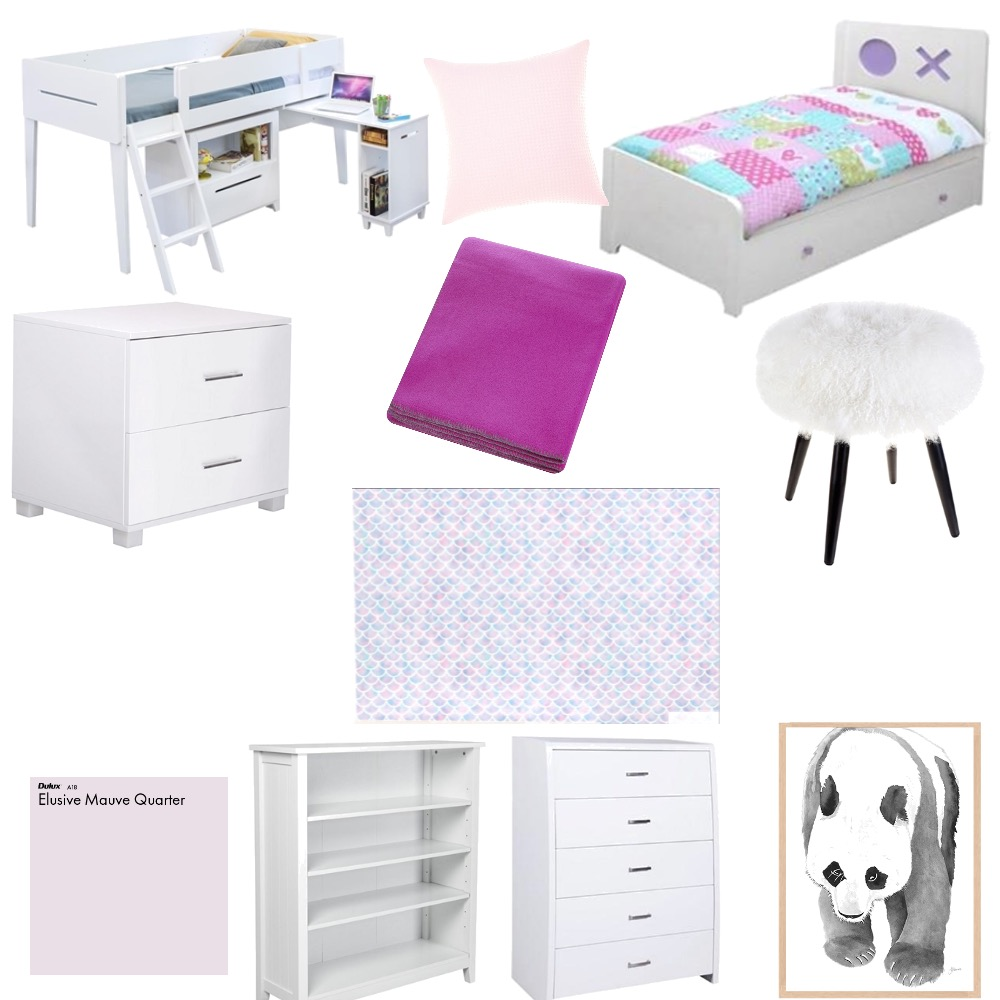 Tori's Bedroom Mood Board by Cybelle on Style Sourcebook