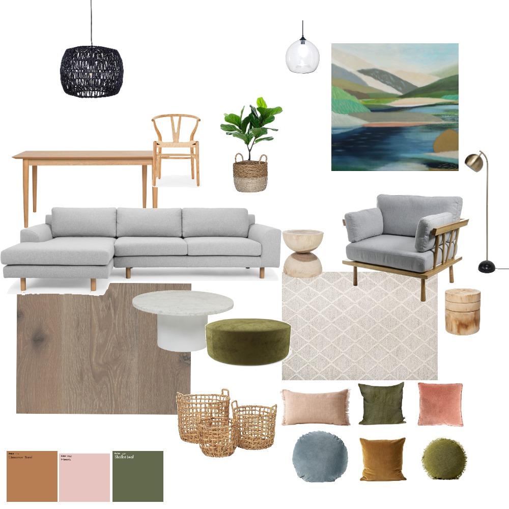 Ocean Grove Living Room Option 2 Mood Board by georgiebelcher on Style Sourcebook