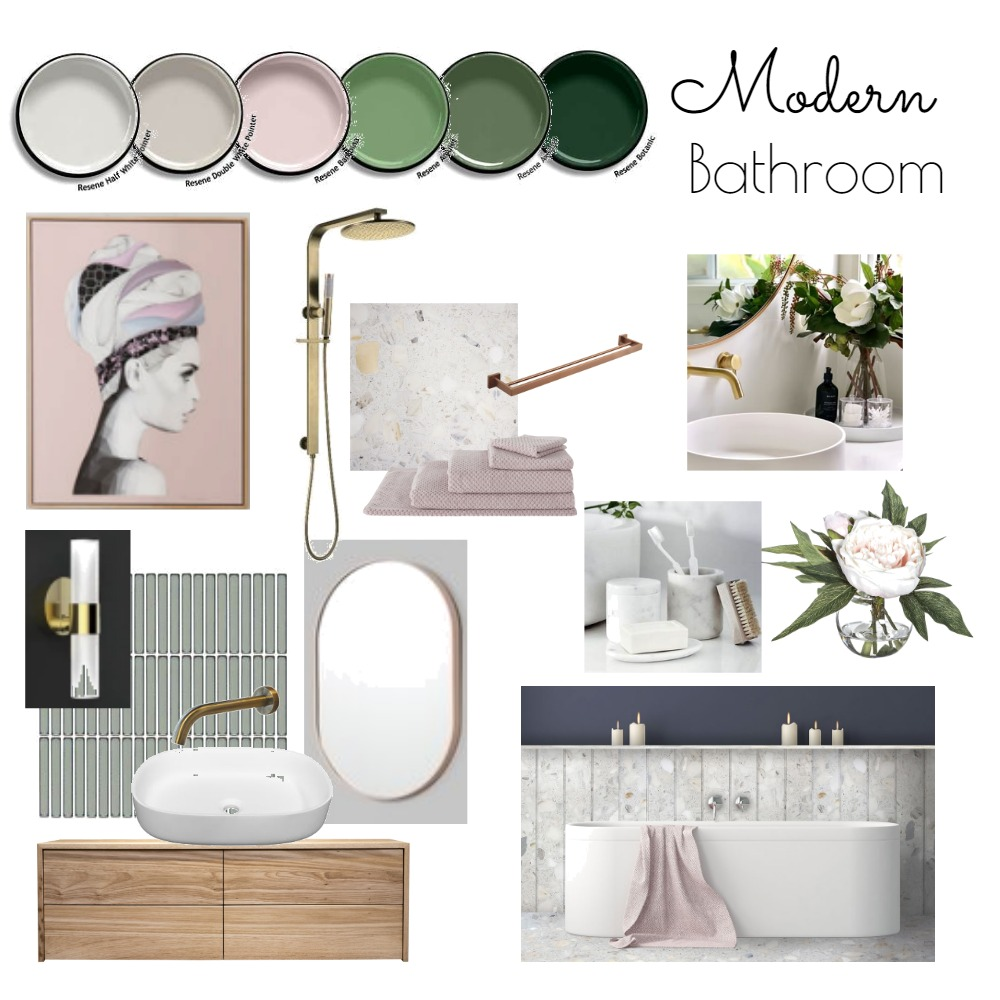 Bathroom Mood Board by Elaine2186 on Style Sourcebook