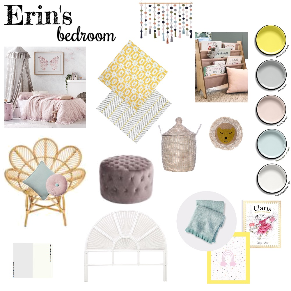 erin's bedroom Mood Board by thestylingworkshop on Style Sourcebook