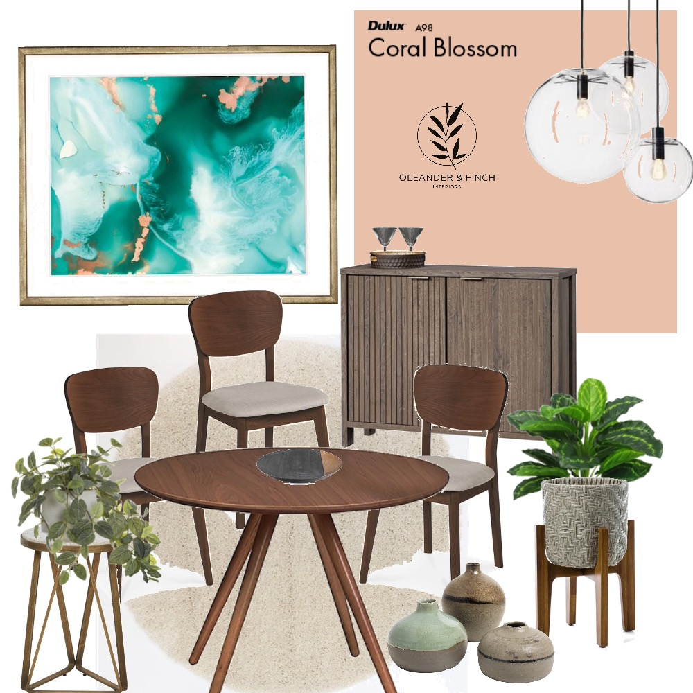Dining draft Mood Board by Oleander & Finch Interiors on Style Sourcebook