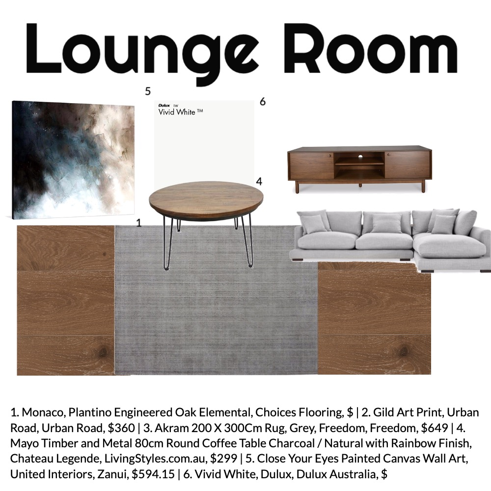 Lounge Room Mood Board by aliciaholland on Style Sourcebook