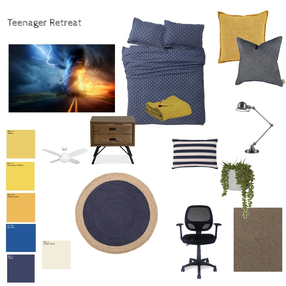 Teenager Retreat 2 Mood Board by leoniemh on Style Sourcebook