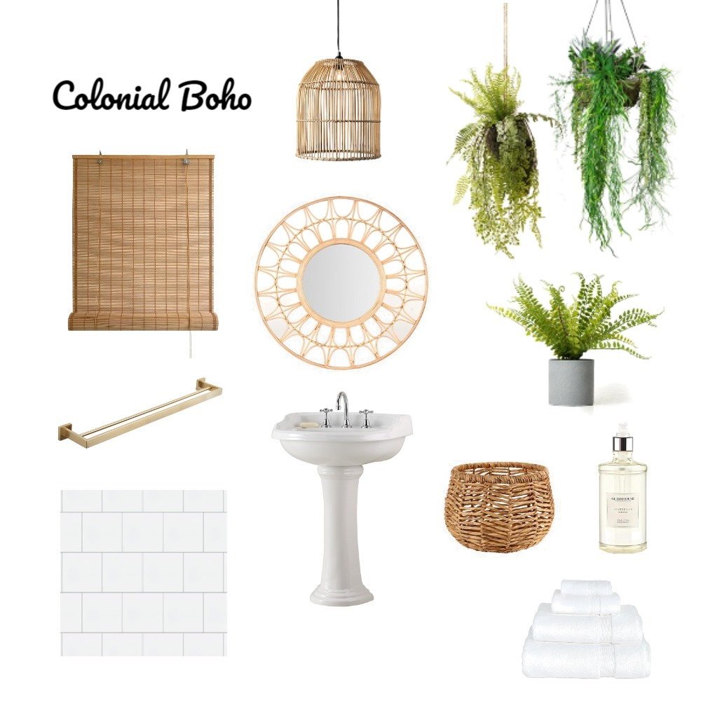 Bathroom guest Mood Board by Marie-Claire on Style Sourcebook