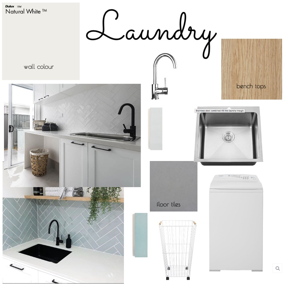 Laundry Mood Board by hannmcfen on Style Sourcebook