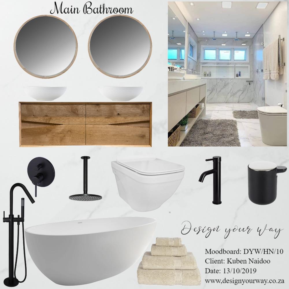 House Naidoo - Main Bath Mood Board by Mariska Steenkamp on Style Sourcebook