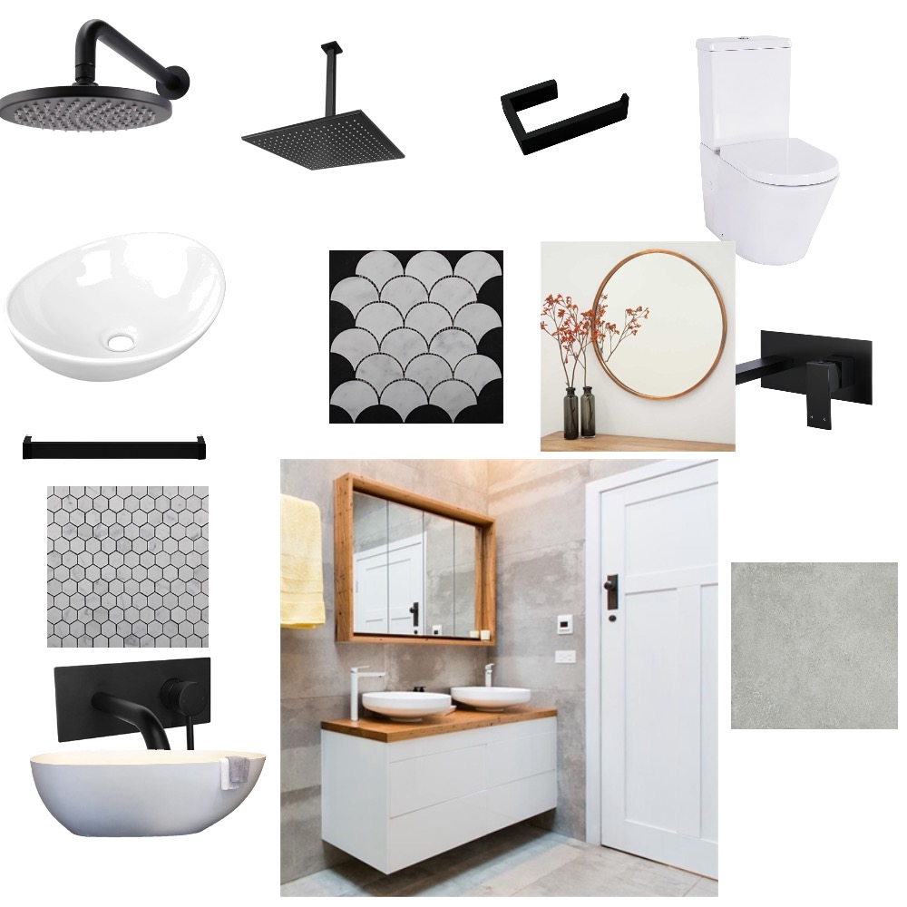Bathroom Mood Board by Kels on Style Sourcebook