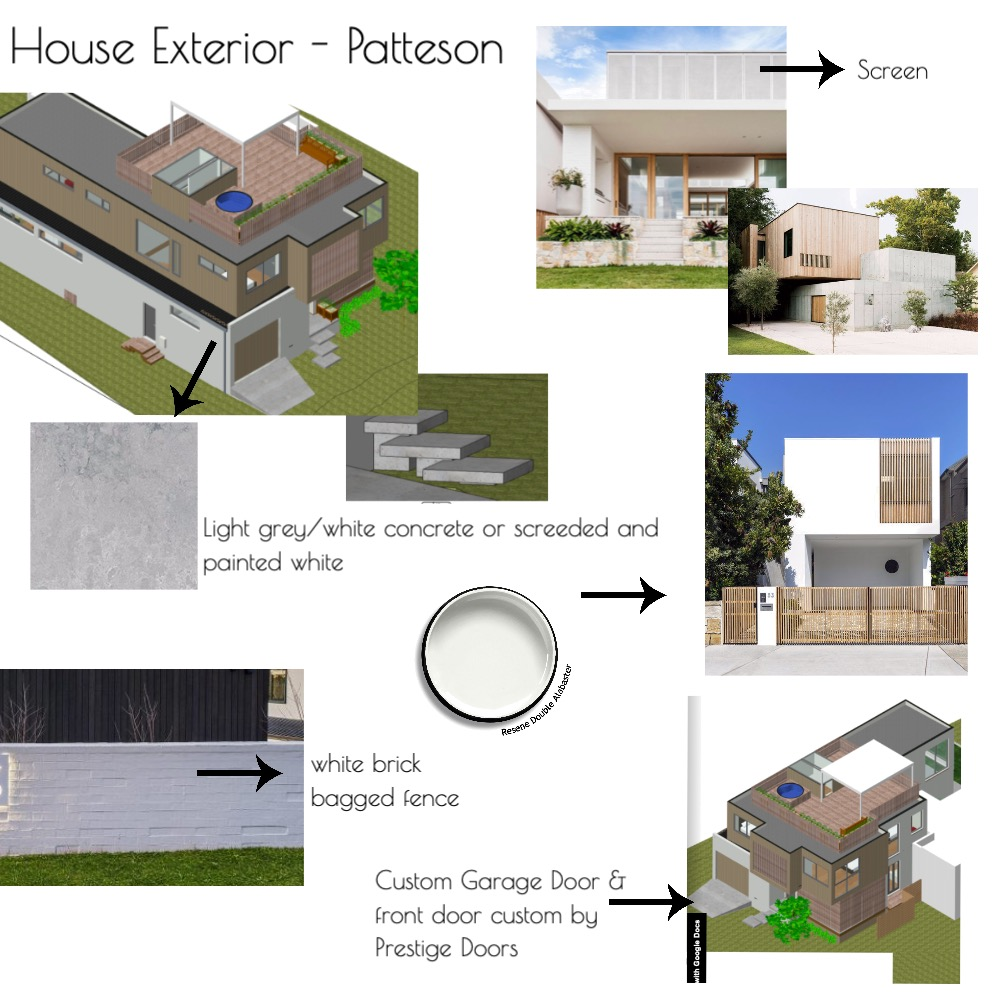 Exterior Patteson Mood Board by Style My Abode Ltd on Style Sourcebook