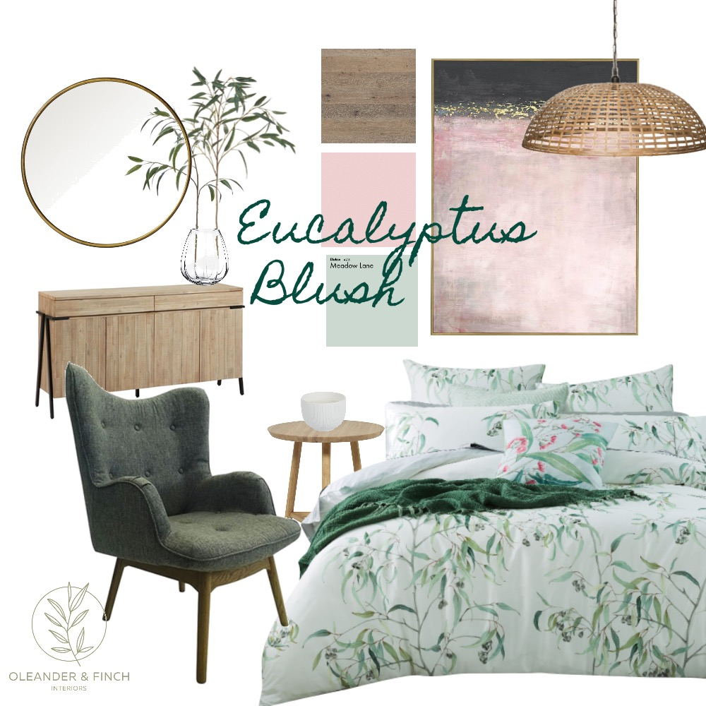 Eucalyptus Mood Board by Oleander & Finch Interiors on Style Sourcebook