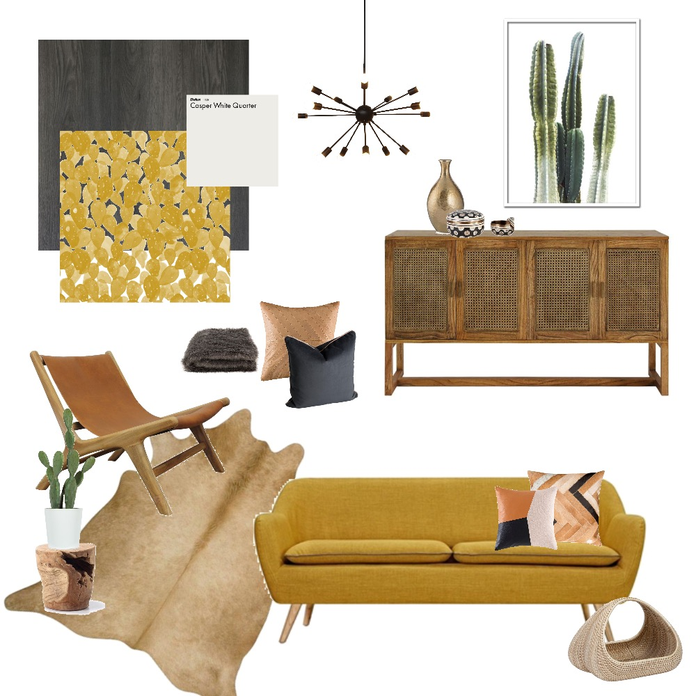 Retro Desert Mood Board by Melhawley on Style Sourcebook