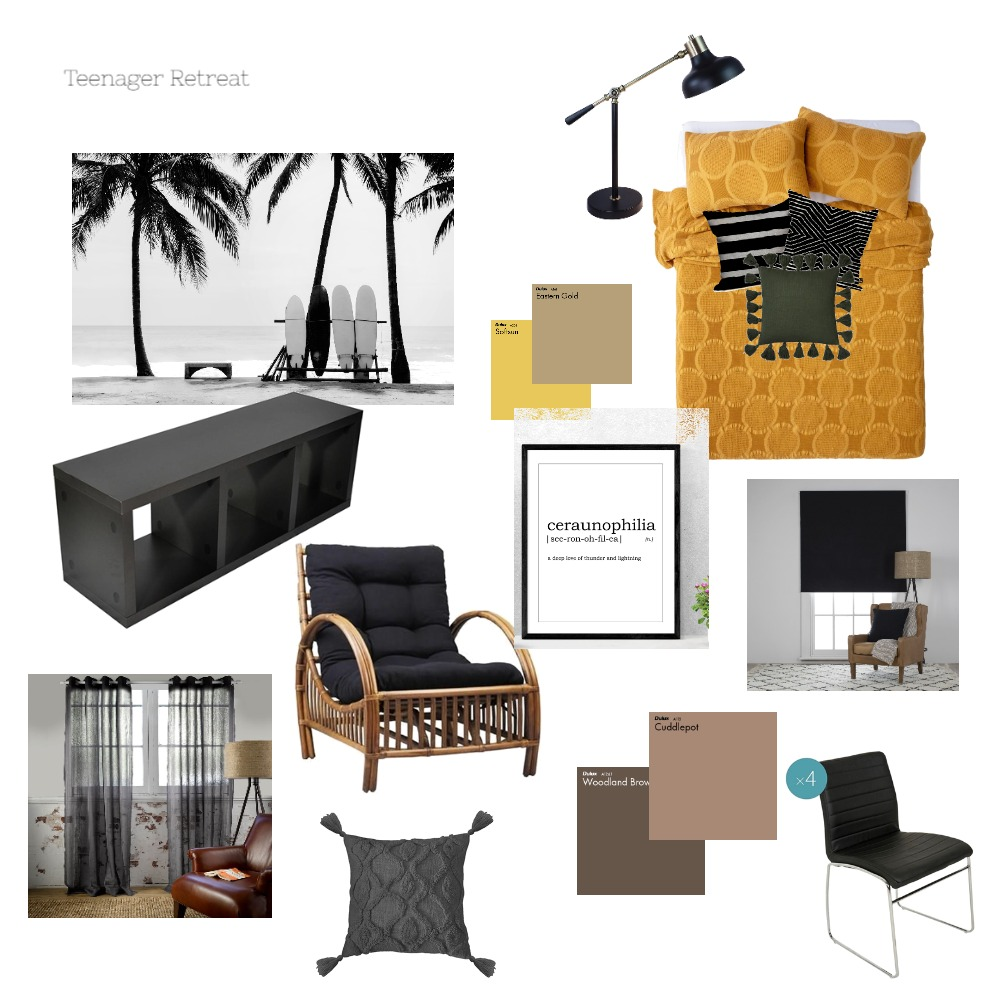 Teenager Retreat Mood Board by leoniemh on Style Sourcebook