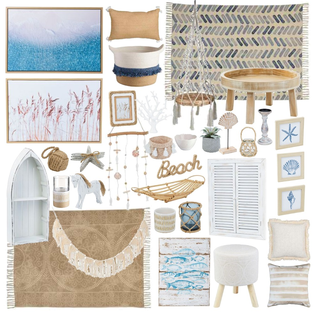 Spotlight Coastal Mood Board by Thediydecorator on Style Sourcebook