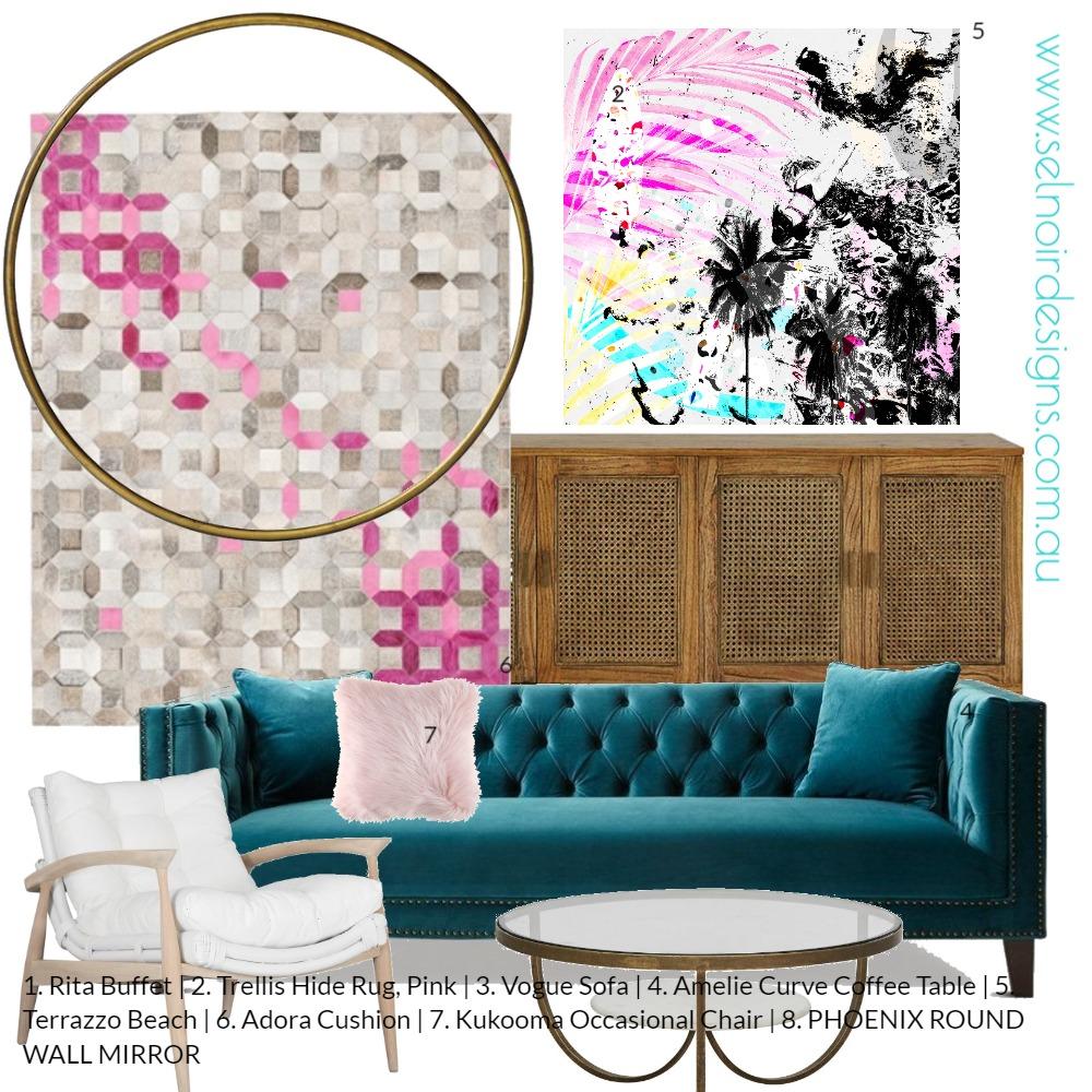 Terrazzo beach Mood Board by Sel Noir Designs  on Style Sourcebook