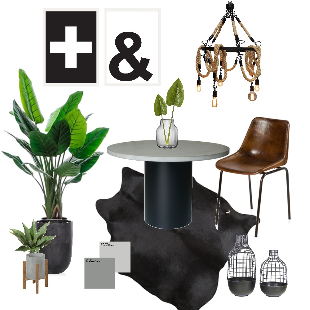 Industrial Dining Mood Board by Melhawley on Style Sourcebook