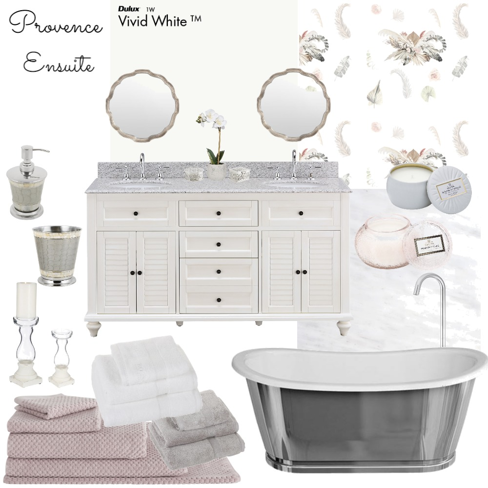 Provence Ensuite Mood Board by Jo Laidlow on Style Sourcebook