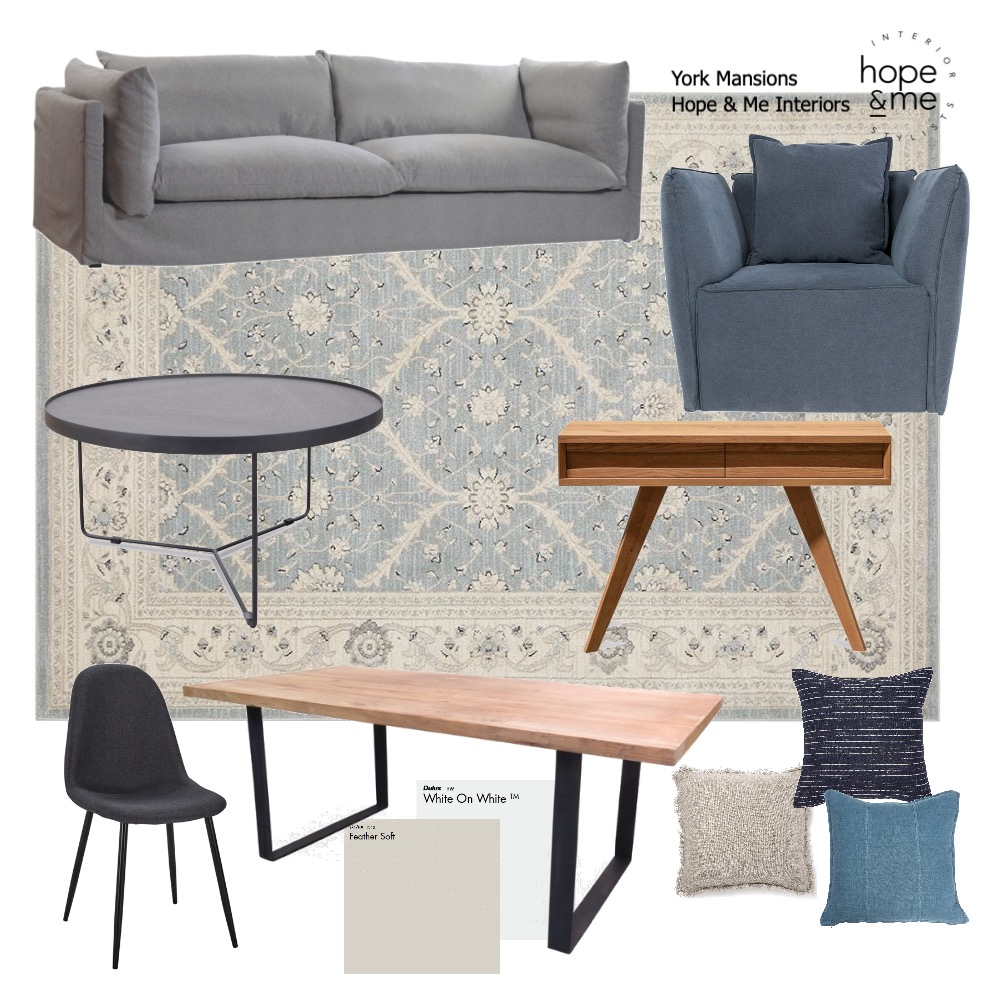 York Apartments Mood Board by Hope & Me Interiors on Style Sourcebook