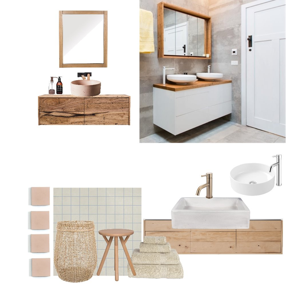 Reinventing the apricot bathroom Mood Board by Sidehustleprojects on Style Sourcebook