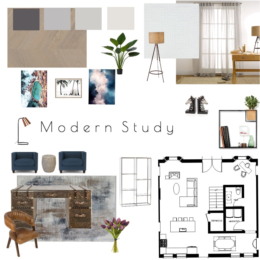 Mod 9- Study Mood Board by GillianD on Style Sourcebook