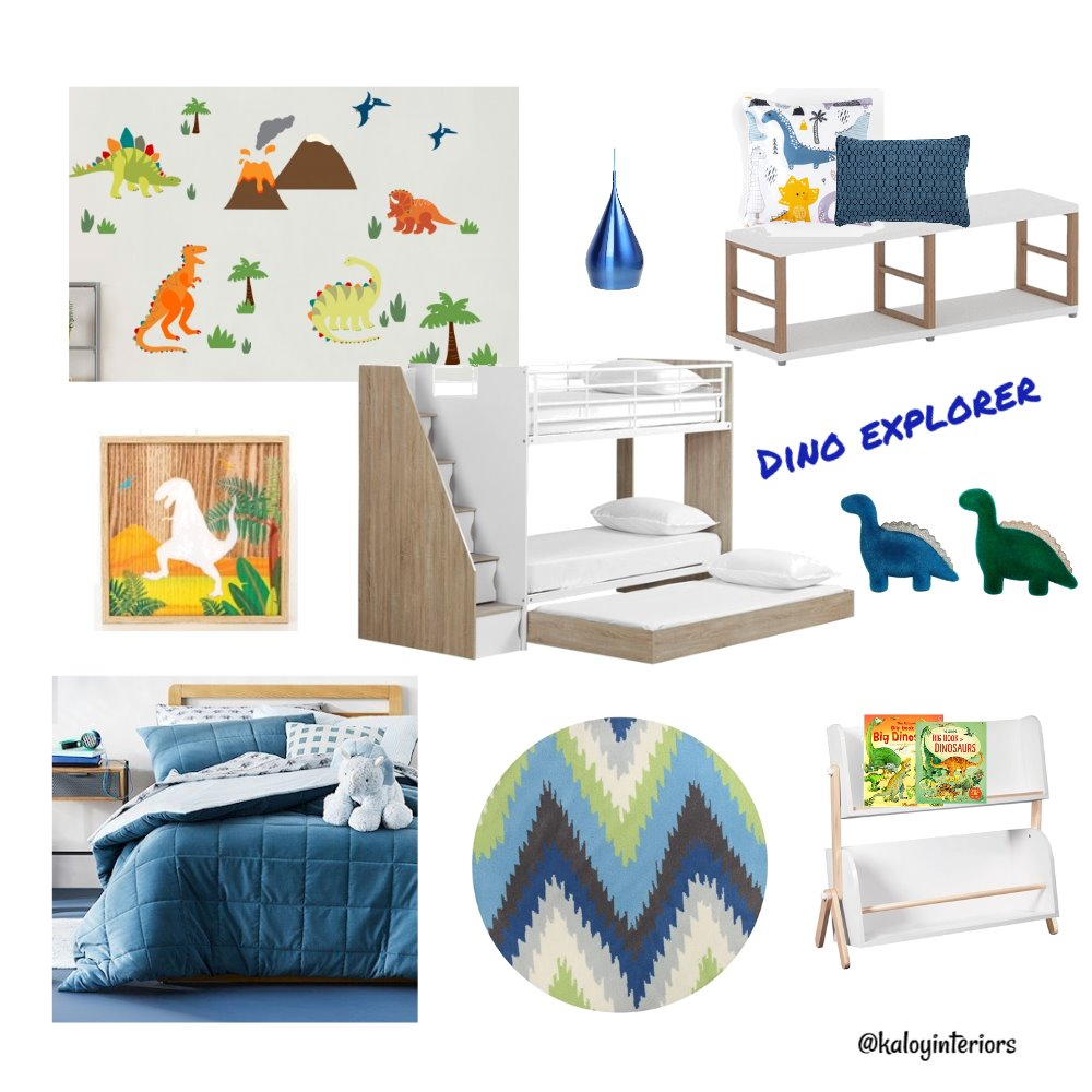 Dino Interior Design Mood Board by Kaloy on Style Sourcebook