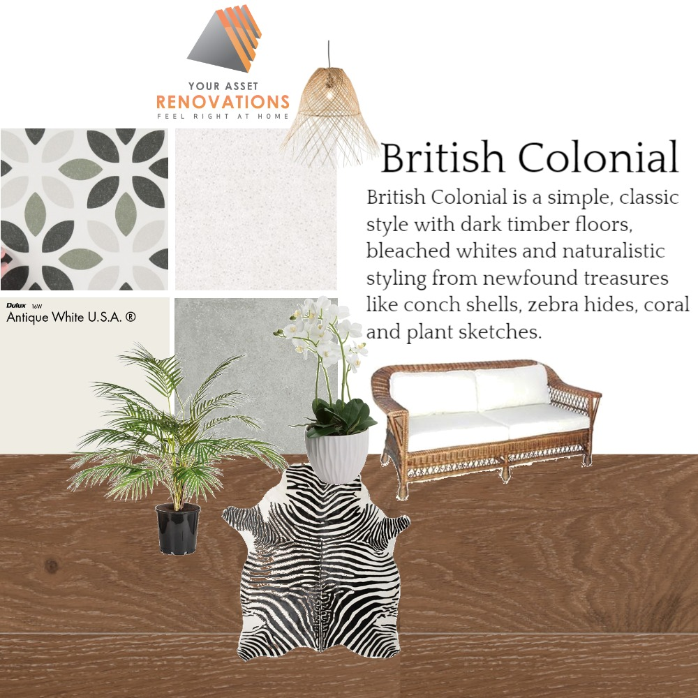 YAR British Colonial Mood Board by mooloolaba_lifestyle on Style Sourcebook