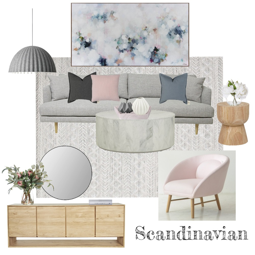 Scandinavian Style Interior Design Mood Board by Nkdesign on Style Sourcebook