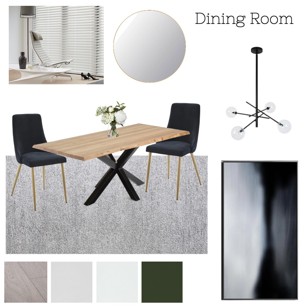 Dining Room #1 Mood Board by madzgartside on Style Sourcebook
