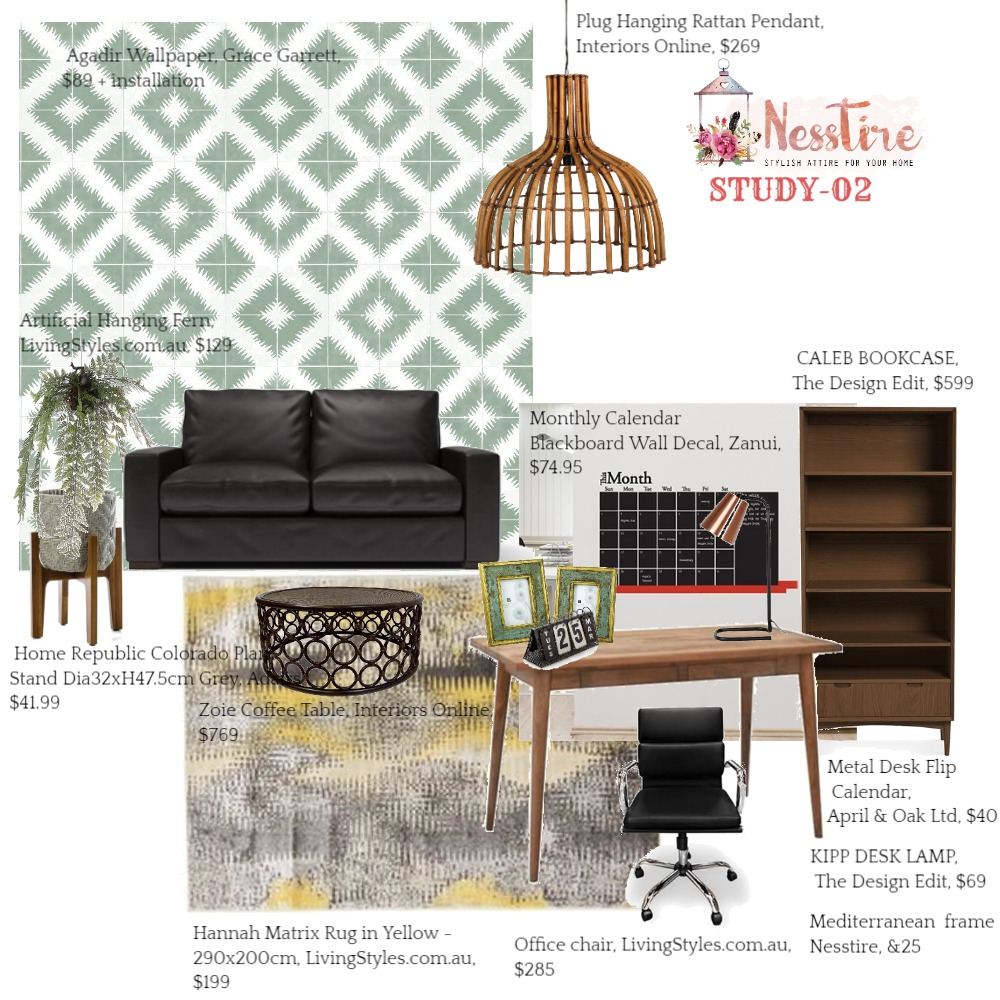 STUDY-02 Mood Board by nesstire on Style Sourcebook