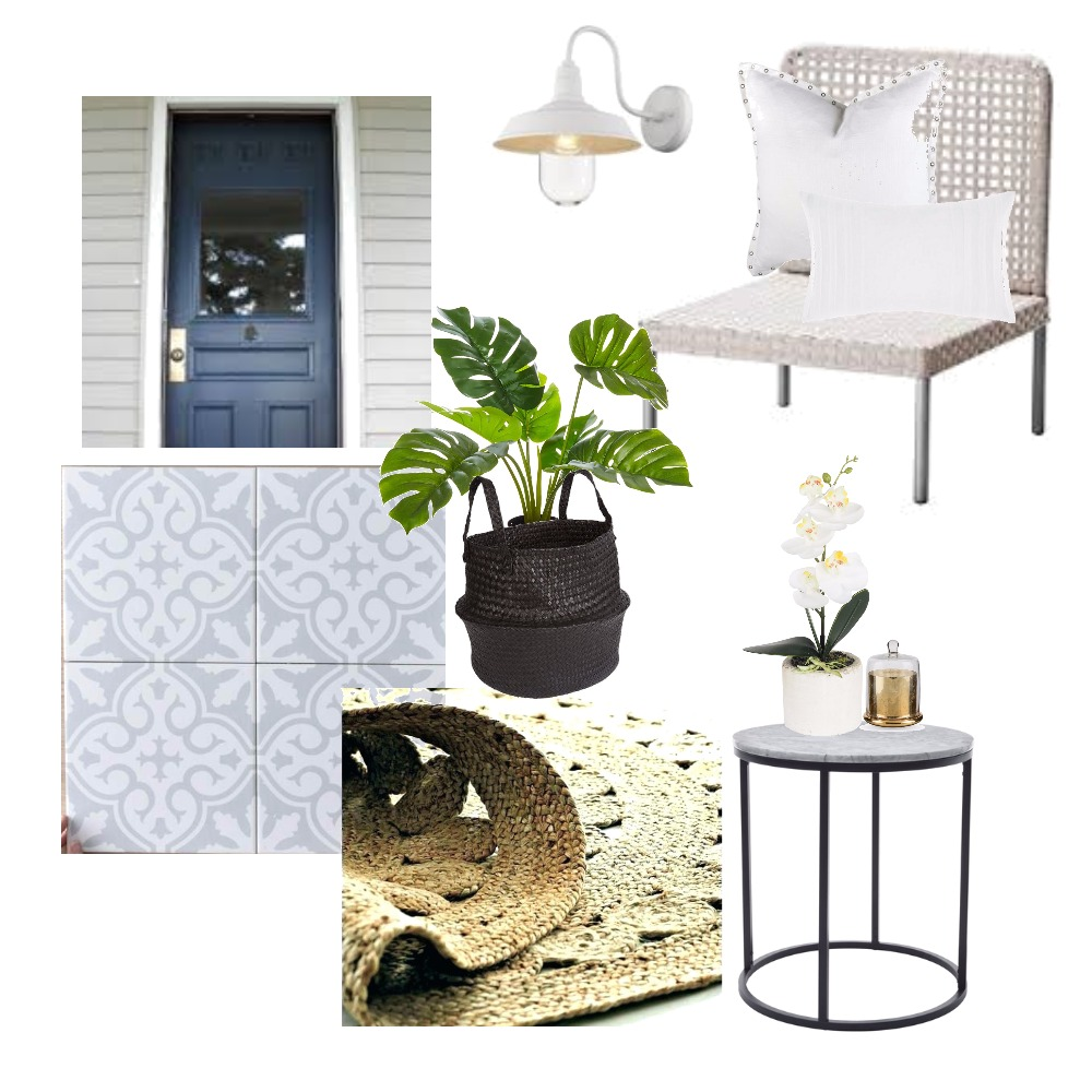 front porch Mood Board by missklf on Style Sourcebook