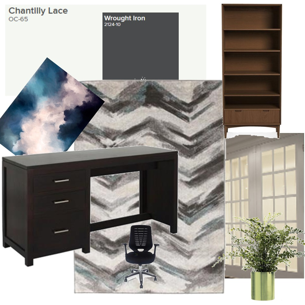 Office Study Mood Board by BriannaSavarino on Style Sourcebook