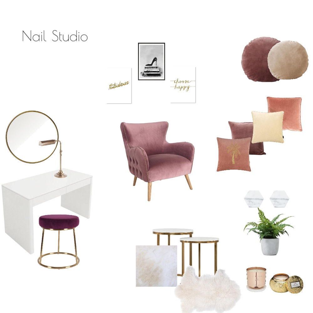 Nail Studio Mood Board by AnissaTa on Style Sourcebook