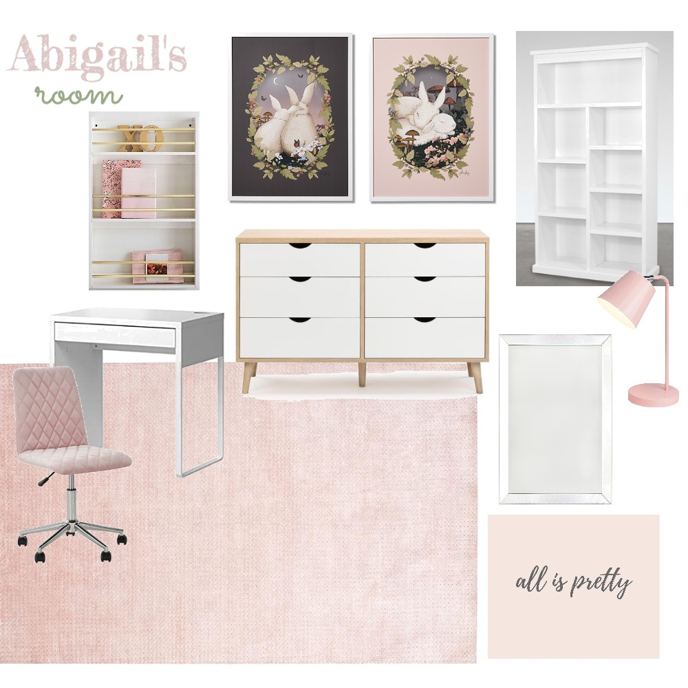 Abigail's room Mood Board by Kristina on Style Sourcebook