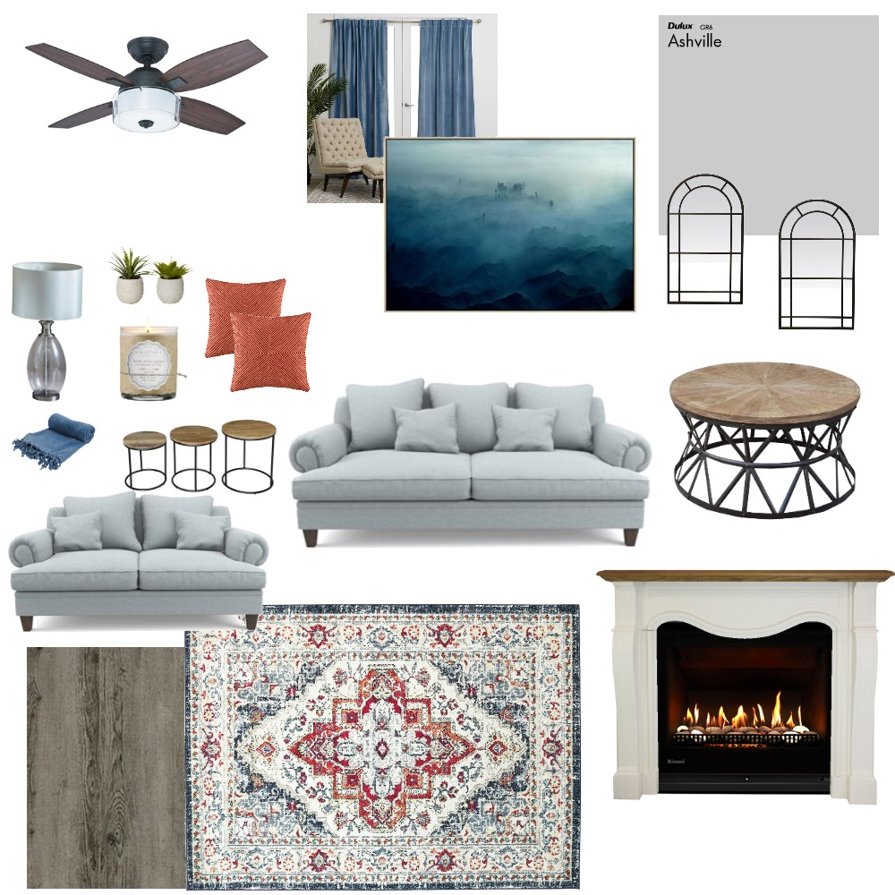 Living Room Mood Board by Tammy on Style Sourcebook