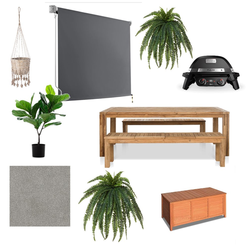 Outdoor Area Mood Board by teniquehell on Style Sourcebook
