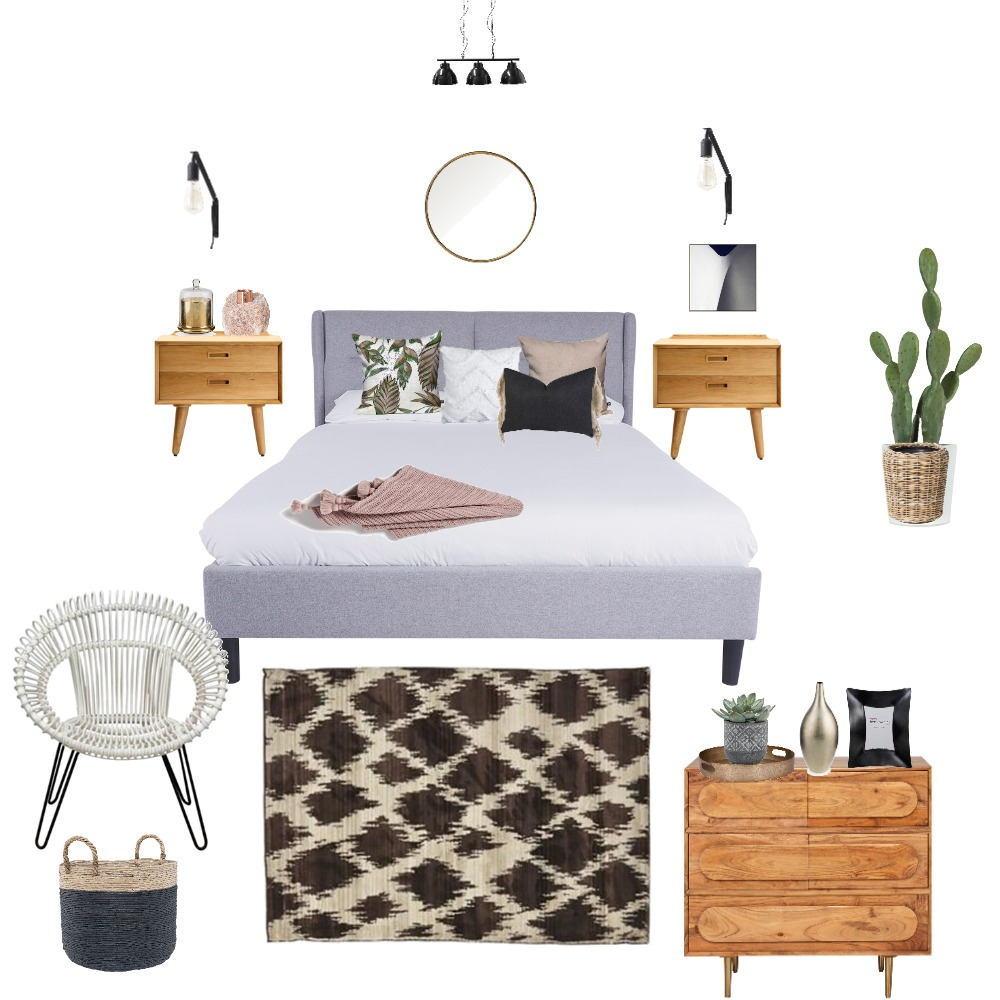 bedroom Interior Design Mood Board by lamicious on Style Sourcebook