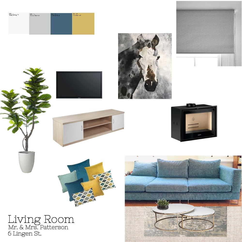 Living Room Mood Board by mchotto on Style Sourcebook