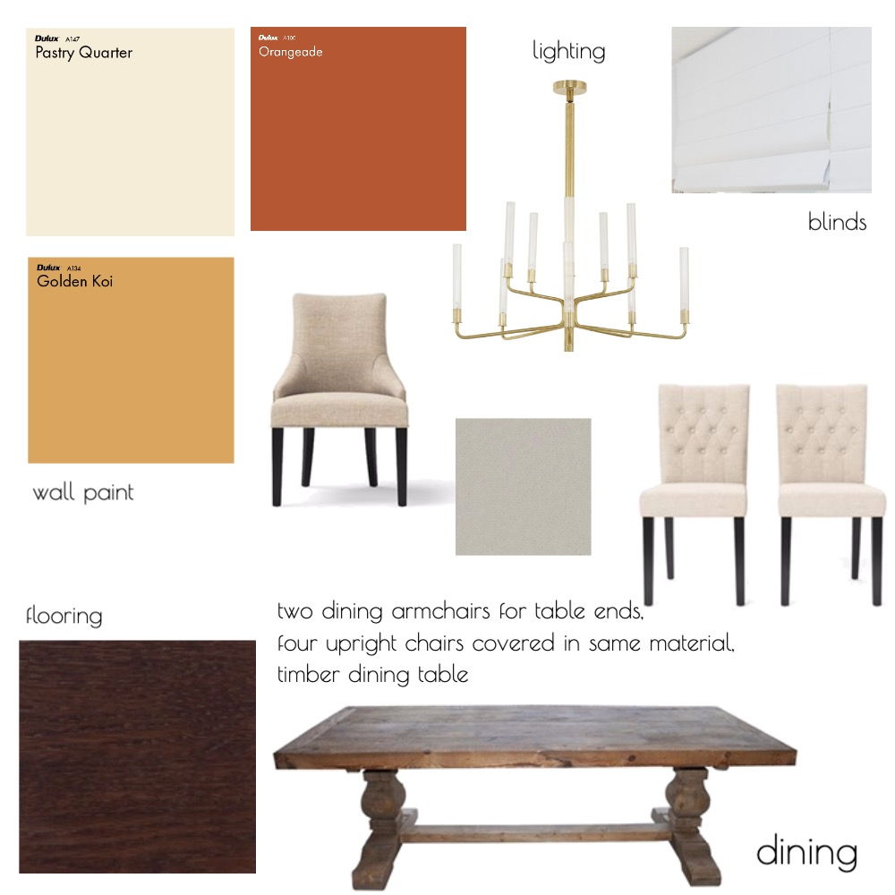 Dining - Module 9 Mood Board by candicedavis on Style Sourcebook