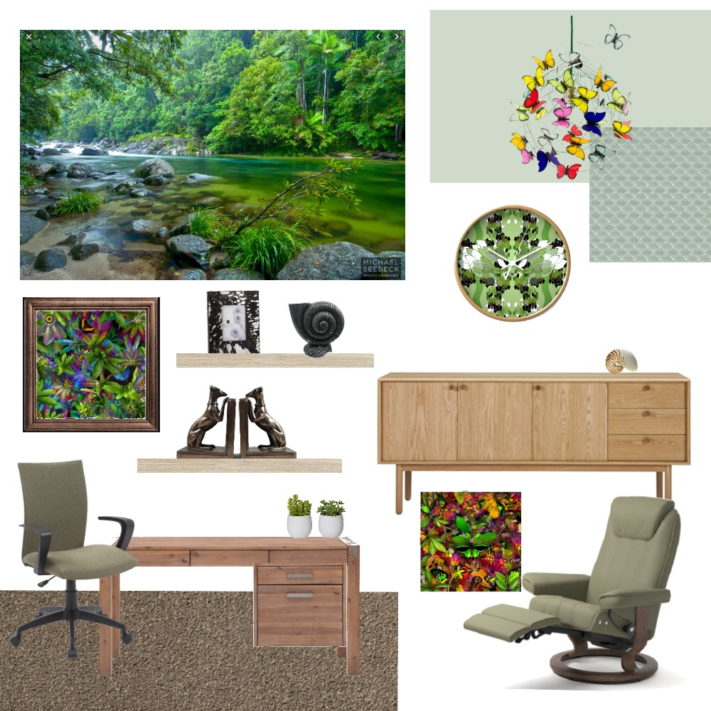Barbara's Study 2 Mood Board by Debster5150 on Style Sourcebook