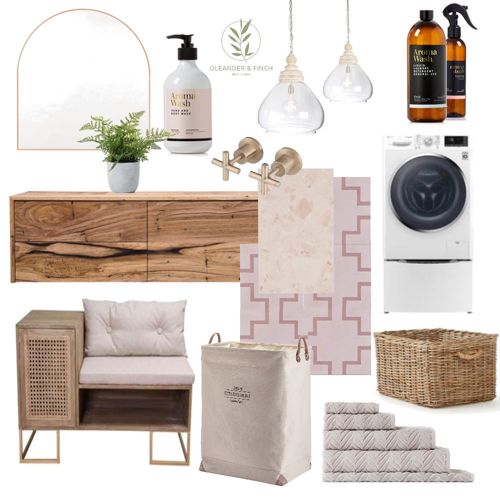 Laundry Mood Board by Oleander & Finch Interiors on Style Sourcebook