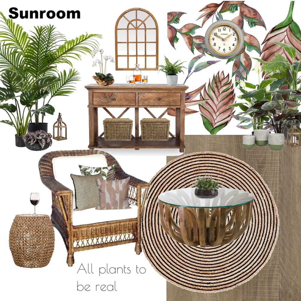 Sunroom Mood Board by Jo Laidlow on Style Sourcebook