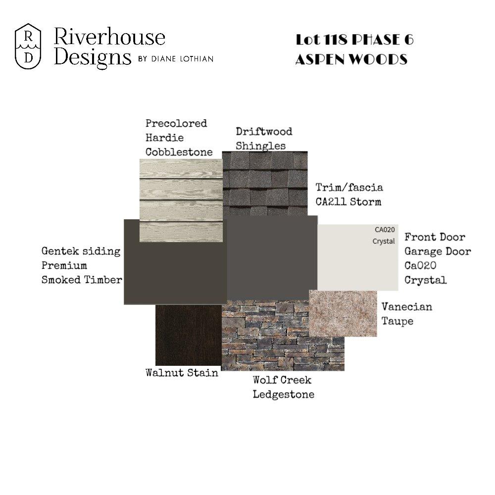 Lot 118 Aspen Woods Mood Board by riverhousedesigns on Style Sourcebook