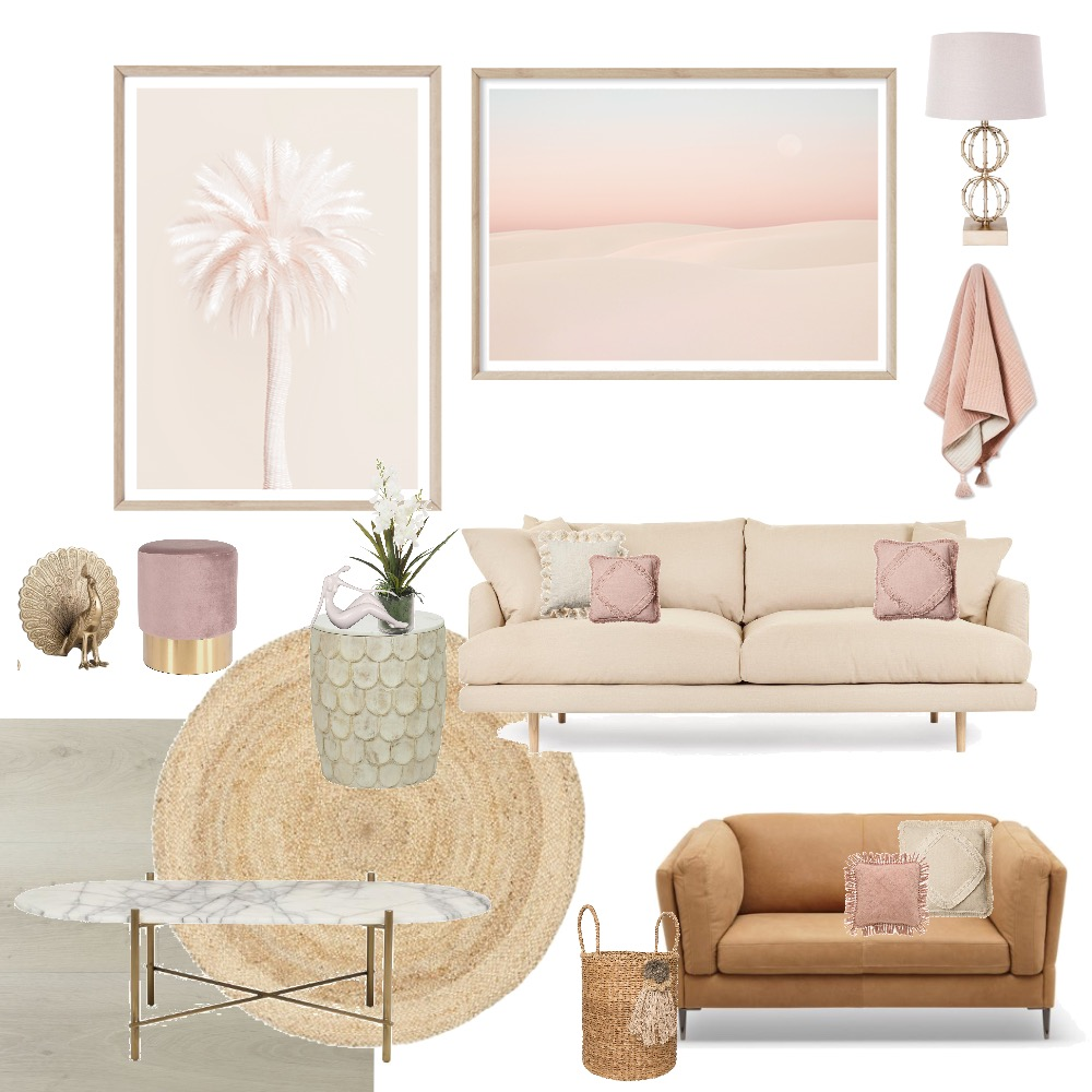 Blush Delux Mood Board by My Interior Stylist on Style Sourcebook