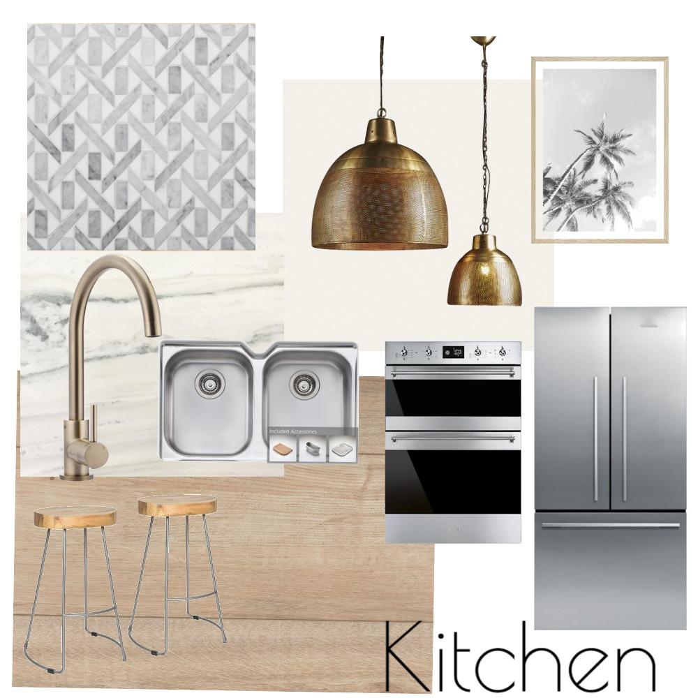 Modern Beach Kitchen Interior Design Mood Board by Soul Haven Interiors on Style Sourcebook