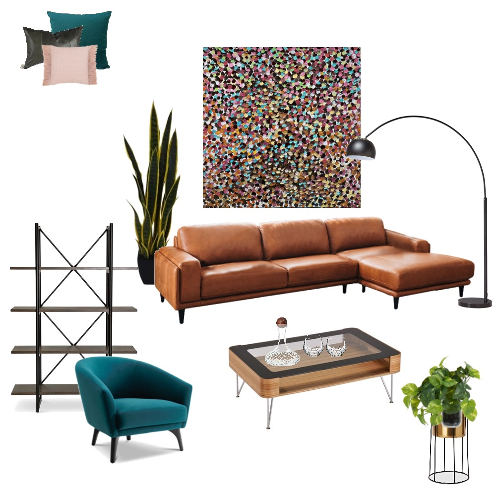 Art lovers retro Interior Design Mood Board by Simplestyling on Style Sourcebook